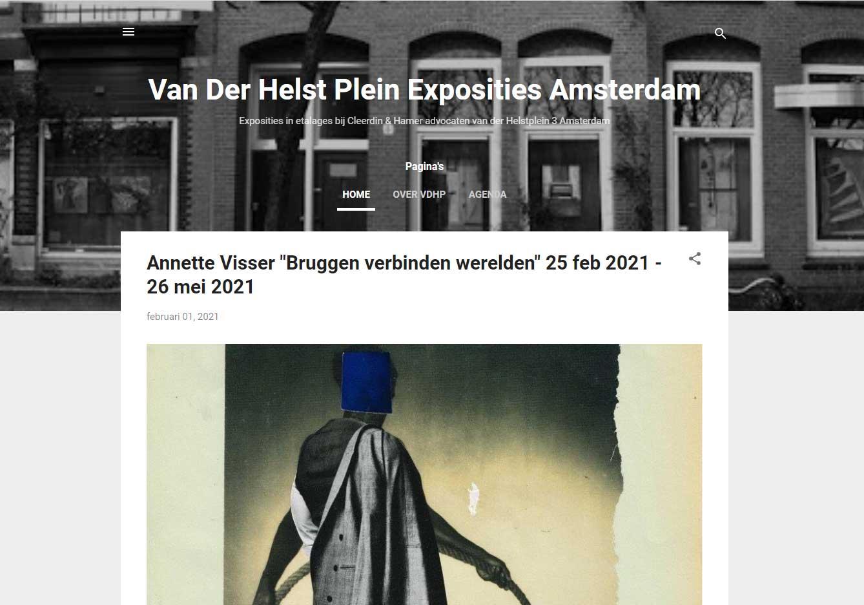 Exhibition Annette Visser Amsterdam 2021